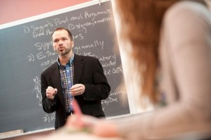 Campus Life - Professor Teaching Dr. Geenen