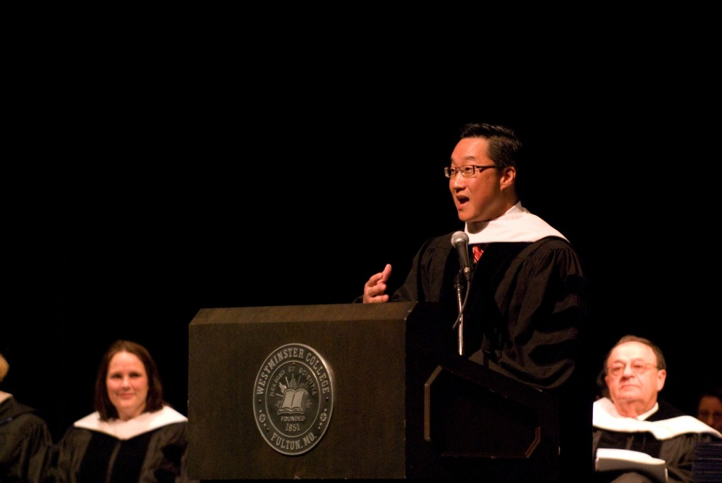 Michael Kim Westminster College Graduation