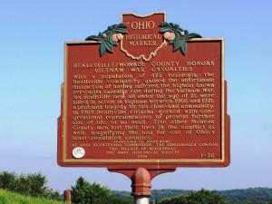 Beallsville Historic Marker