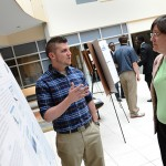 2015 Undergraduate Scholars Forum Adam Beamer '15 and Sue Brownawell '10