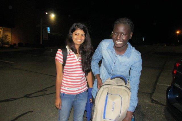 Welcome, Ravina Kate from India and Mercy Taban from South Sudan!