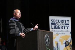 Department of Homeland Security Jeh Johnson Westminster College