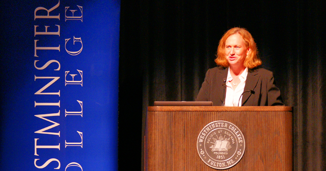 Professor Laura Donohue and her speech about National Security Law