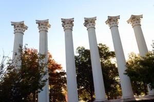 columns fall shot