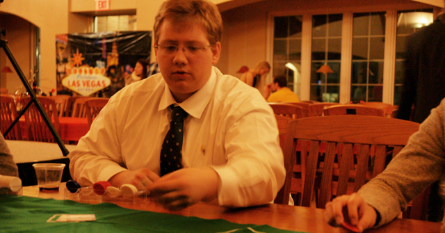Casino Night organized by Student Activities Board