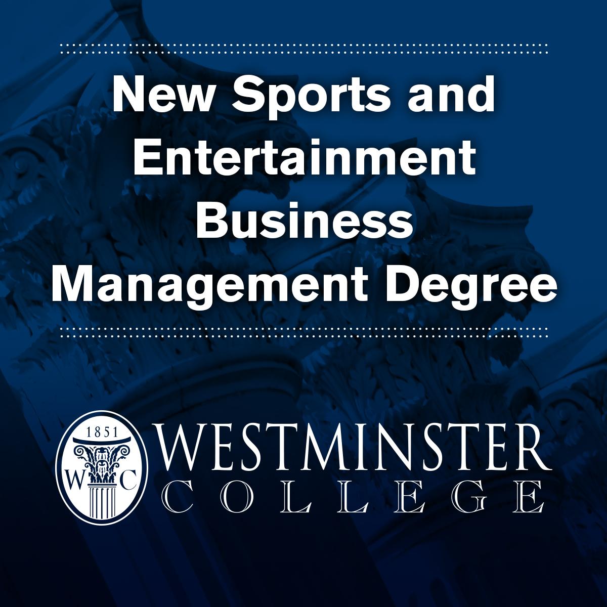 sports entertainment degree