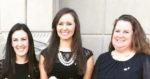 Courtney Gallagher, Maddy Feldewerth, Leah Logan, Kappa Alpha Theta Grand Convention