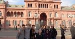 Casa Rosada, the presidential residence and executive branch building in Buenos Aires