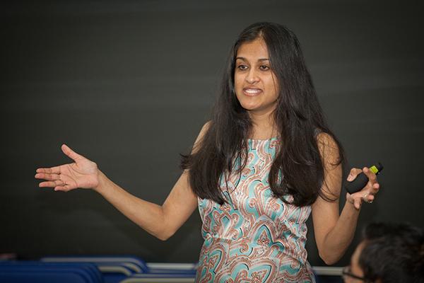 Dr. Bina Vanmali, 2016 Hancock Symposium