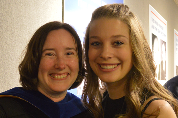 Dr. Heidi Lavine and Roberta Burns